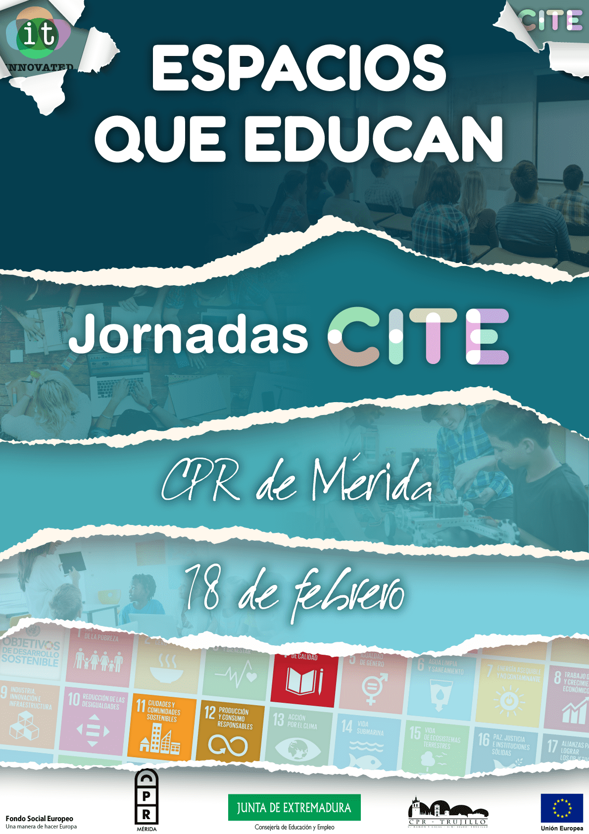 cartel jornada CITE 1 2